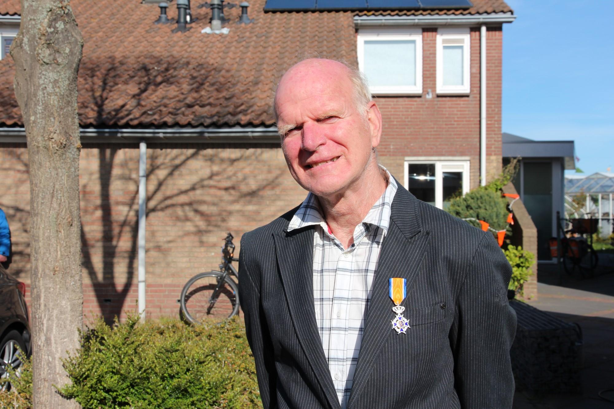 Onze Andre van Wingerden, supervrijwilliger, geridderd!