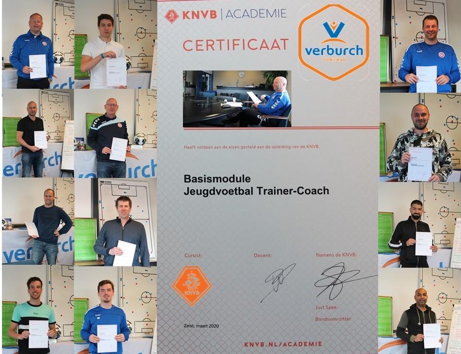 Interne KNVB cursus met succes afgerond
