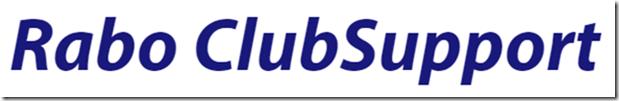 Rabo ClubSupport Actie 5 tot 25 oktober