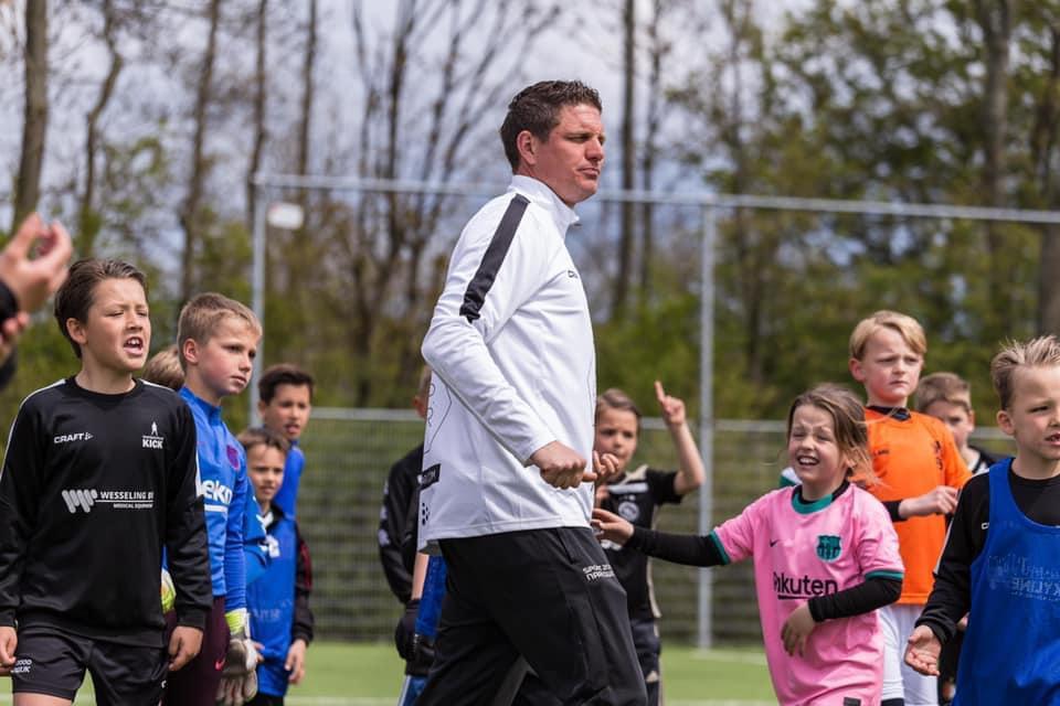 Stefan Kraaijeveld nieuwe hoofdtrainer Jeugd Onder 10